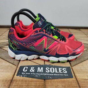 New Balance 880v4 Running Shoe Womens Pink Green